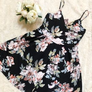 Floral Summer Dress- Spaghetti Strap
